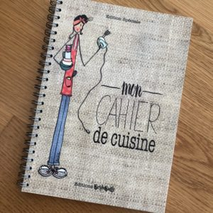 Boutique Dizuit - cahier - cuisine - BertaBulle