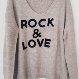 Boutique Dizuit - pull - rock