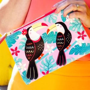 boutique Dizuit - clutch - toucan - sass and belle
