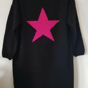boutique dizuit-robe pull étoile