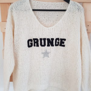 boutique dizuit-pull grunge