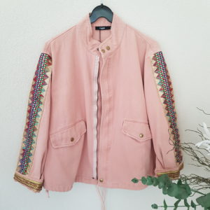 boutique dizuit-veste rose