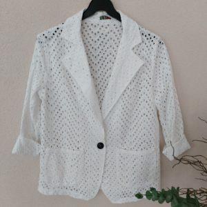 boutique dizuit-veste blazer blanche