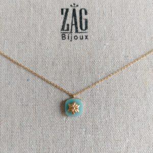 boutique dizuit-collier pierre turquoise zag