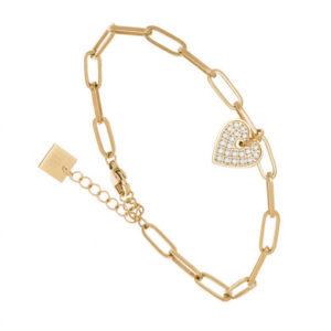 boutique dizuit-bracelet coeur zag