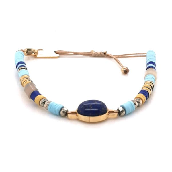 bracelet-zag-bijoux-acier-dore-lapis-lazuli
